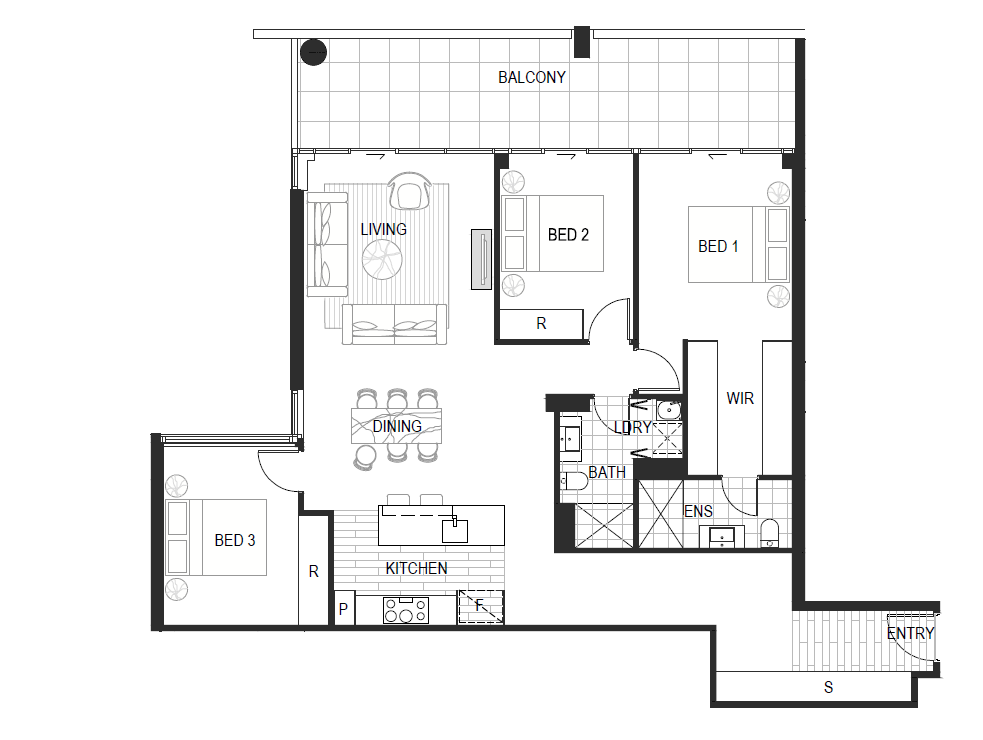 Apartment Type 3A