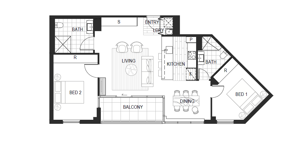 Apartment Type 2C