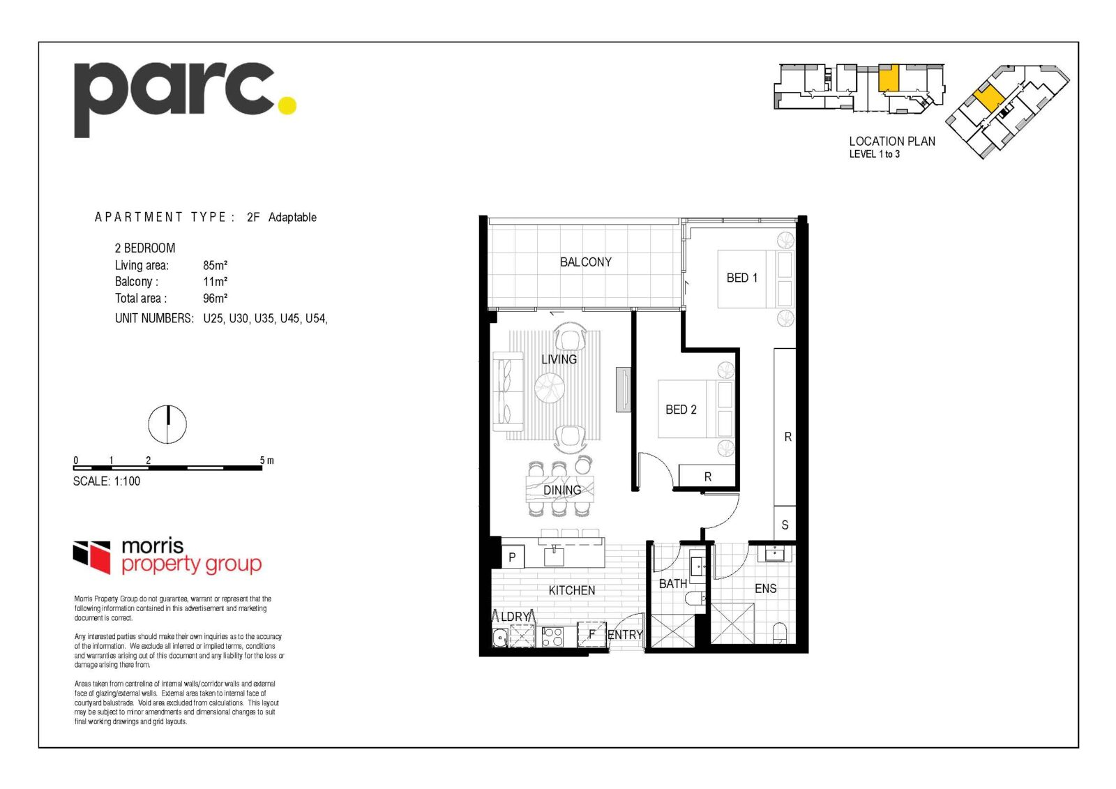 Apartment Type 2F from $549,900